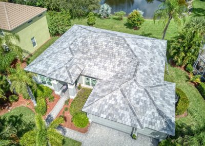 Metro Roofing - Estero - Tile - Slate Color Blend Small